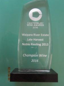 canterbury wine awards